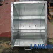thùng xe thu gom rác 400l