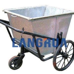 xe gom rác 400l, xe thu gom rác 400 lít