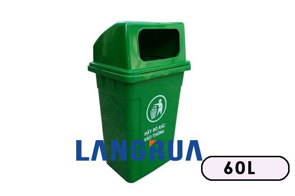 thùng rác nhựa 60l giá rẻ