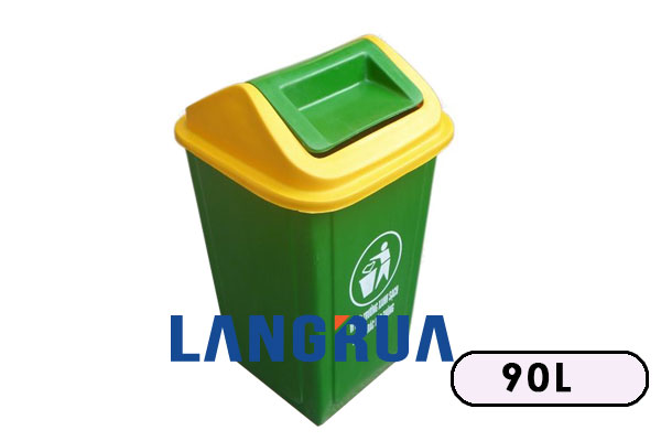 Thùng Rác Nhựa y tế 90l
